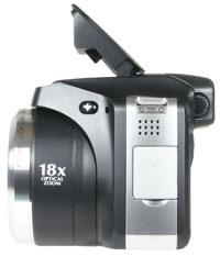 FinePix S8000fd - flash open